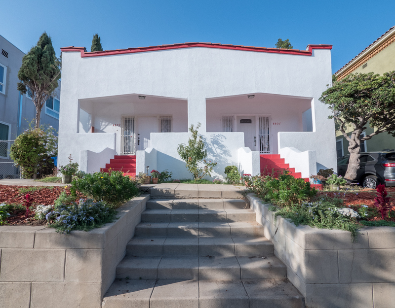 Renovated Spanish Duplex | Furnished | Flexible Lease Terms | Prime Los Feliz | Backyard and Garden!