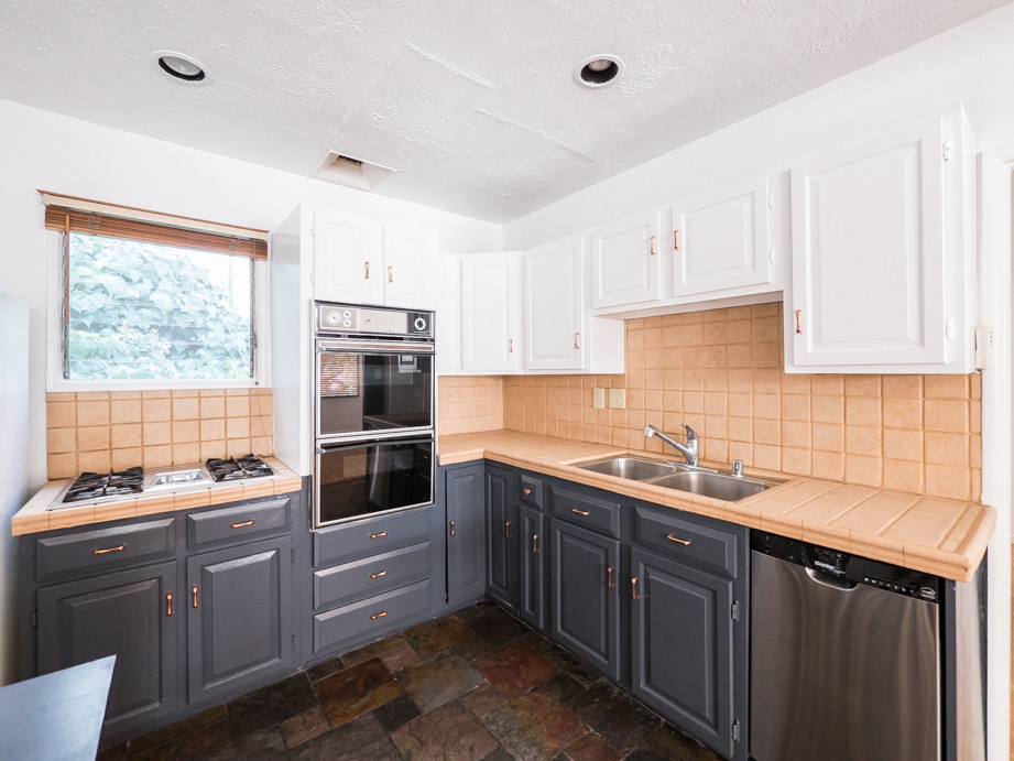 Cabinesque Hollywood Hills Single Family Home w/ Back Patio & Terraced Hillside | 2 Car Garage