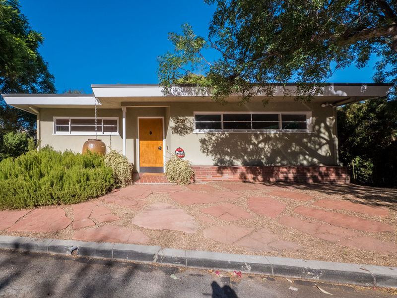 Stunning Mid-Century Two Level Home   Franklin Hills   Huge Private Yard w/ Deck   Separate Workshop + outdoor studio