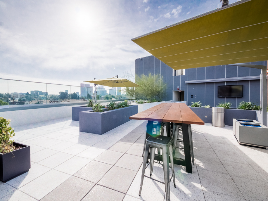 Modern Luxury | One Bedroom Apartment |Private Balcony | Rooftop Lounge with Spa | Blocks to Echo Park Lake | Pet Friendly