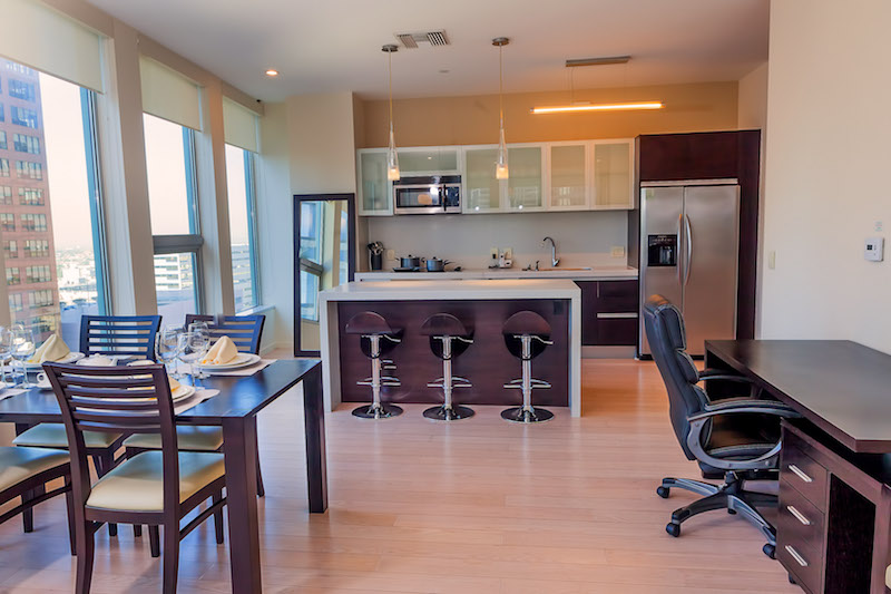 SOPHISTICATED FULLY FURNISHED APARTMENT | ALL UTILITIES INCLUDED | FLEXIBLE LEASE TERMS | INCREDIBLE AMENITIES