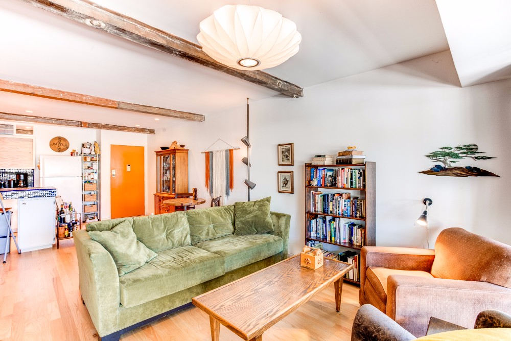 Short Term Options Available |Furnished Mid-Century Condo | Steps from Echo Park Lake | Community Pool | Private Balcony | Parking Included