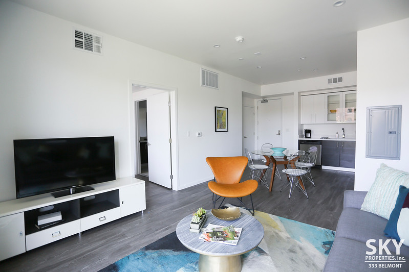 Modern Luxury | One Bedroom Apartment | Rooftop Lounge with Spa | Blocks to Echo Park Lake | Pet Friendly | Central Air, All Appliances, In-unit W/D and Parking Included!